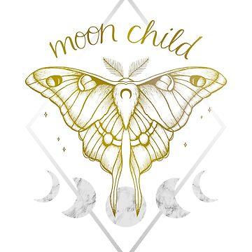 Moon Child - Gold by barlena