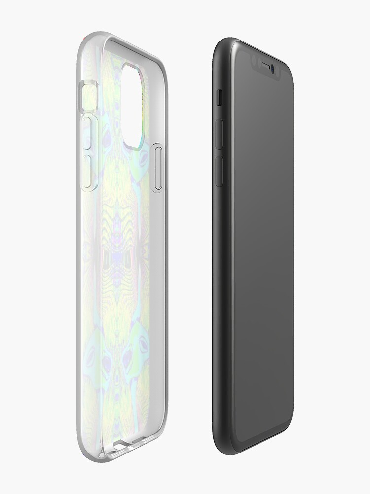 Coque iPhone « Gratte-ciel arc-en-ciel », par JLHDesign