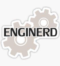 Ingenieuringenieur Nerd Sticker