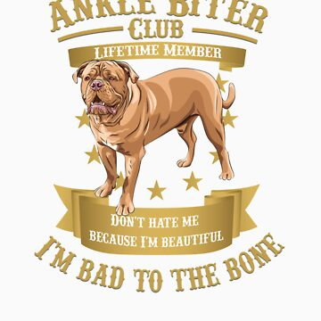 Dogue de Bordeaux are Bad to the Bone by rodie9cooper6