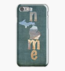 Michigan Home iPhone Case/Skin
