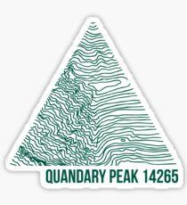 Pegatina Quandary Peak