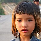 Bridge girl in Dac Lak province, Central Vietnam by mooksool