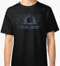 I Am Not a Hacker. Honest. Classic T-Shirt
