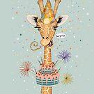«Sorpresa feliz cumpleaños jirafa» de Ruta Dumalakaite