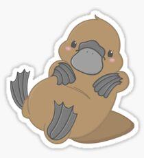 Cute Kawaii Platypus Sticker