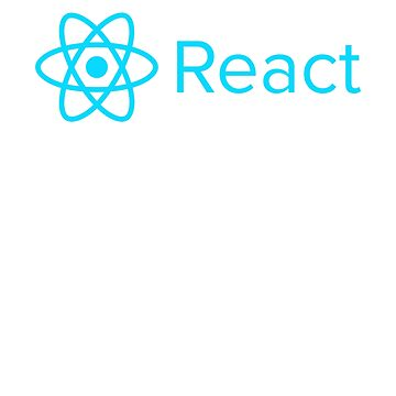React high quality logo by WeeTee