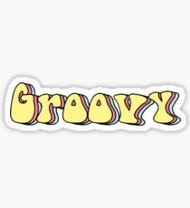 Groovig Sticker
