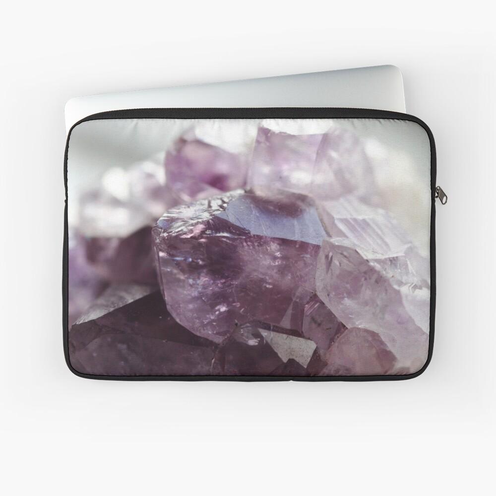 Amethyst crystal Laptop Sleeve