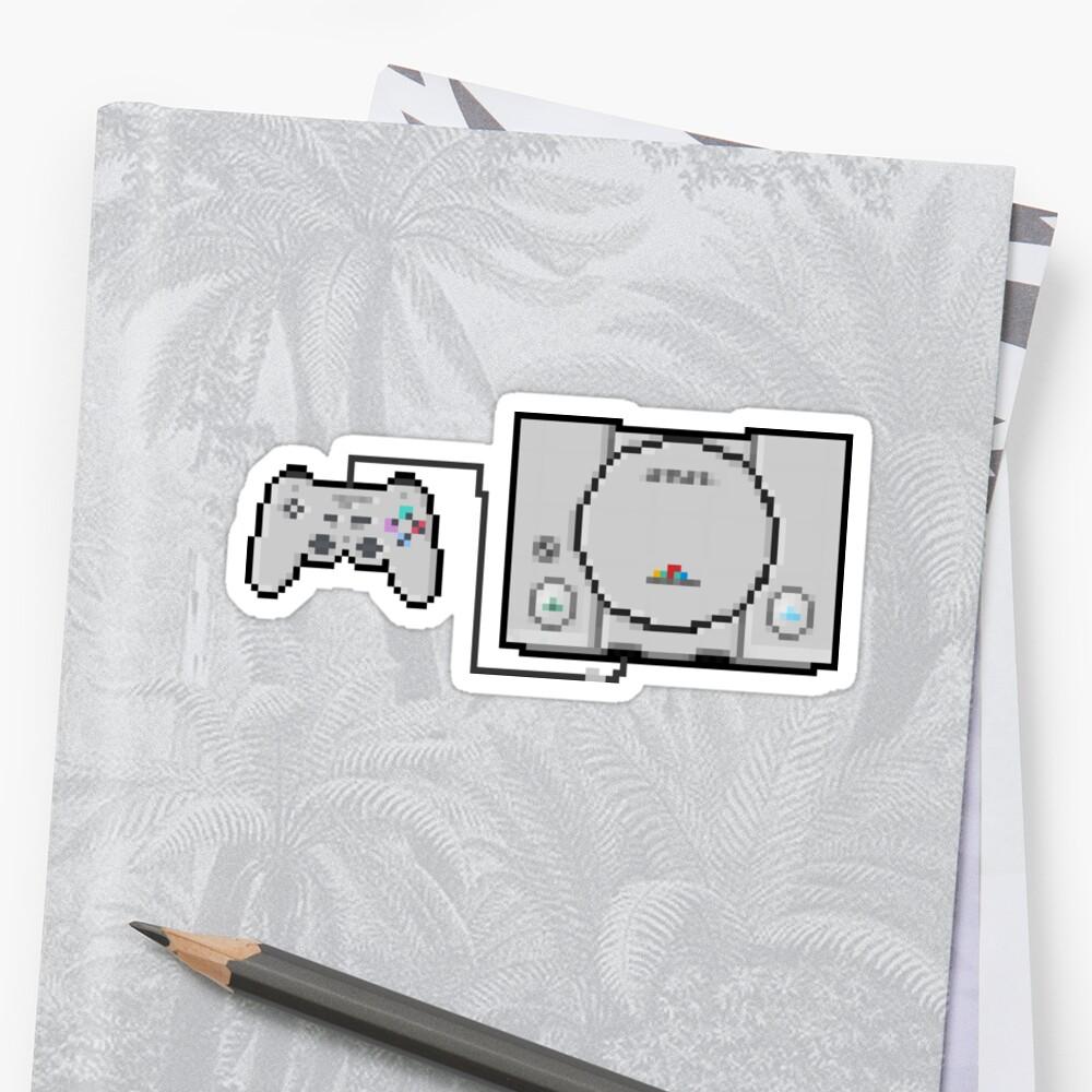 Playstation Sprite - Liebe die erste Generation! Sticker