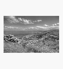 Black Head scenic view Photographic Print