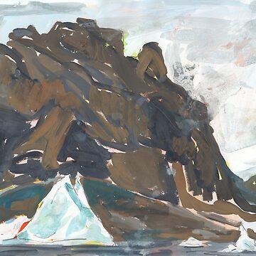 Uummannaq Mountain by JohnDouglas