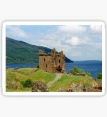 Urquhart Castle , Scotland Sticker