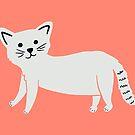 Kleine Katze von Jacqueline Hurd