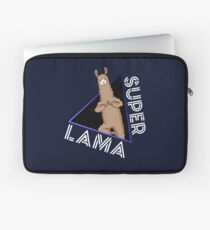 Super Lama Superhero Animal Gift Comic Laptop Sleeve