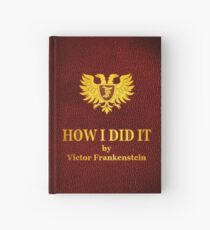 "Young Frankenstein ""How I did it"" Book Hardcover Journal"