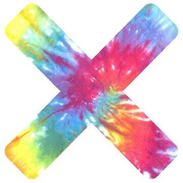 Tie Dye X by oreophan