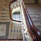 Dunedin Railway Station Staircase by Deirdreb