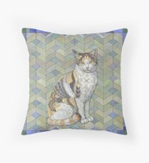 Calico Cat Floor Pillow