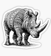 Pegatina Rinoceronte
