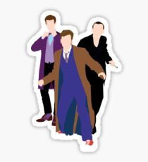 The New Who Doctors Sticker