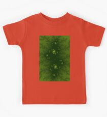 Green Fractal Kids Clothes