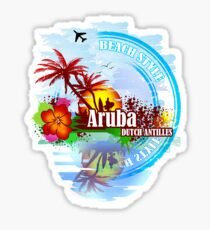Aruba Dutch Antilles Sticker