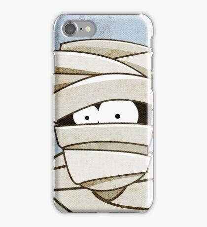 Funny Halloween Mummy iPhone Case/Skin