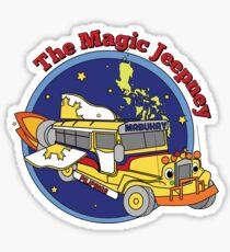 The Magic Jeepney Sticker