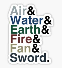 Avatar - Sokka's Speech Sticker