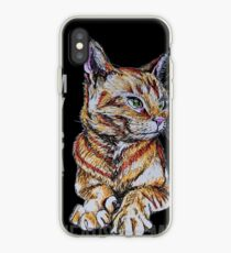 My Cat Kneads Me iPhone Case