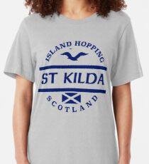 St Kilda, Scottish Islands Slim Fit T-Shirt