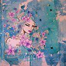 peacock by Katie Hoisington