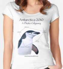 Antarctica 2010: A Photo Odyssey Women's Fitted Scoop T-Shirt