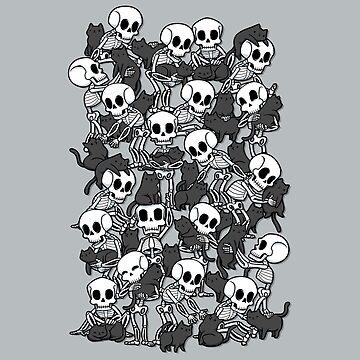 Fiesta del cráneo del gato de tobiasfonseca