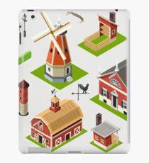 Isometric Great American Barn Set iPad Case/Skin