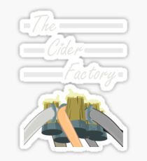 The Cider Factory Sticker
