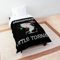 Cute Grandma's Little Tornado Kid Comforter