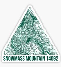 Snowmass Mountain Sticker