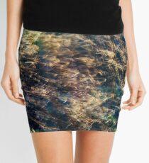 Rainbow Grass Four Mini Skirt