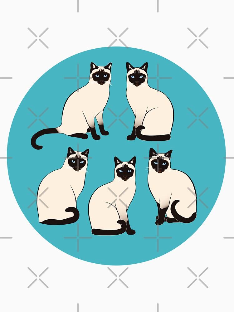 Gatos siameses - patrón escaso de nadyanadya