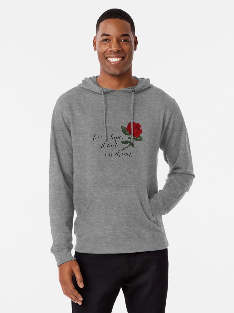 BelleLove Merch Hoodie Slim Fit Hooded Sweatshirt with Drawstring Hood