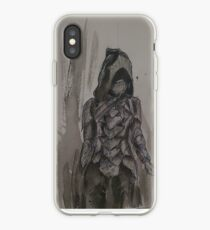 Nightingale Armour Watercolour iPhone Case