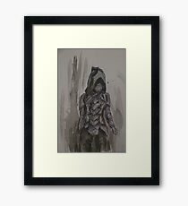 Nightingale Armour Watercolour Framed Print