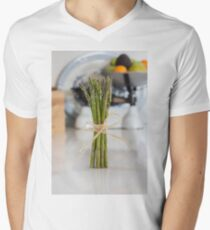 Asparagus Men's V-Neck T-Shirt