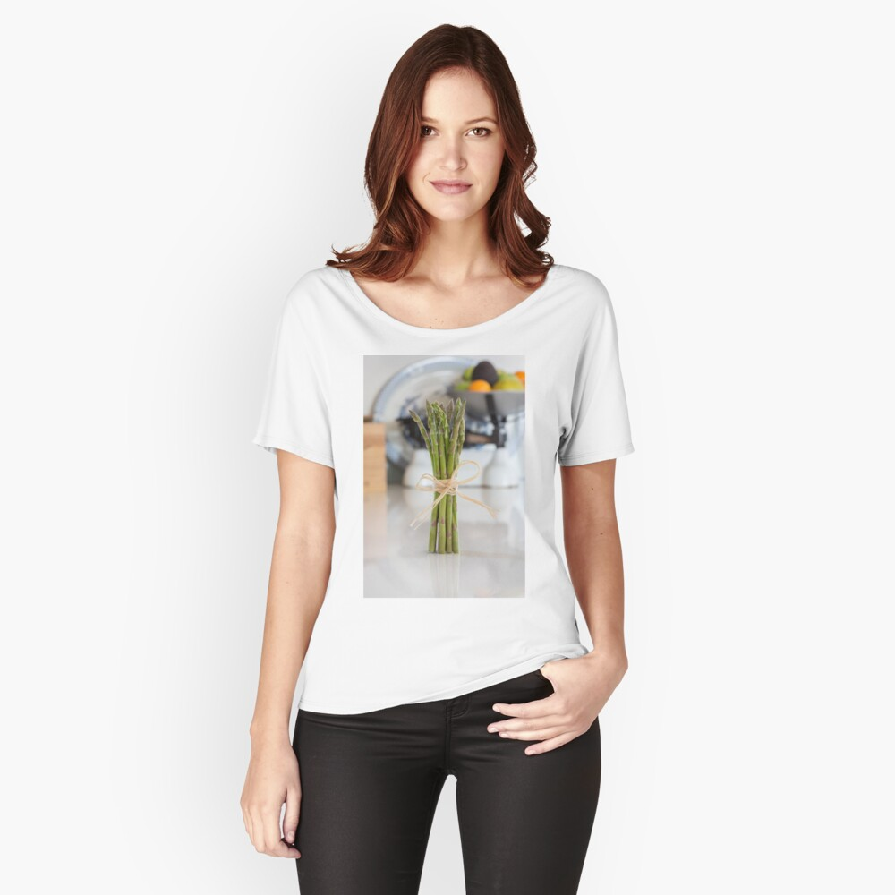 Asparagus Women's Relaxed Fit T-Shirt Front