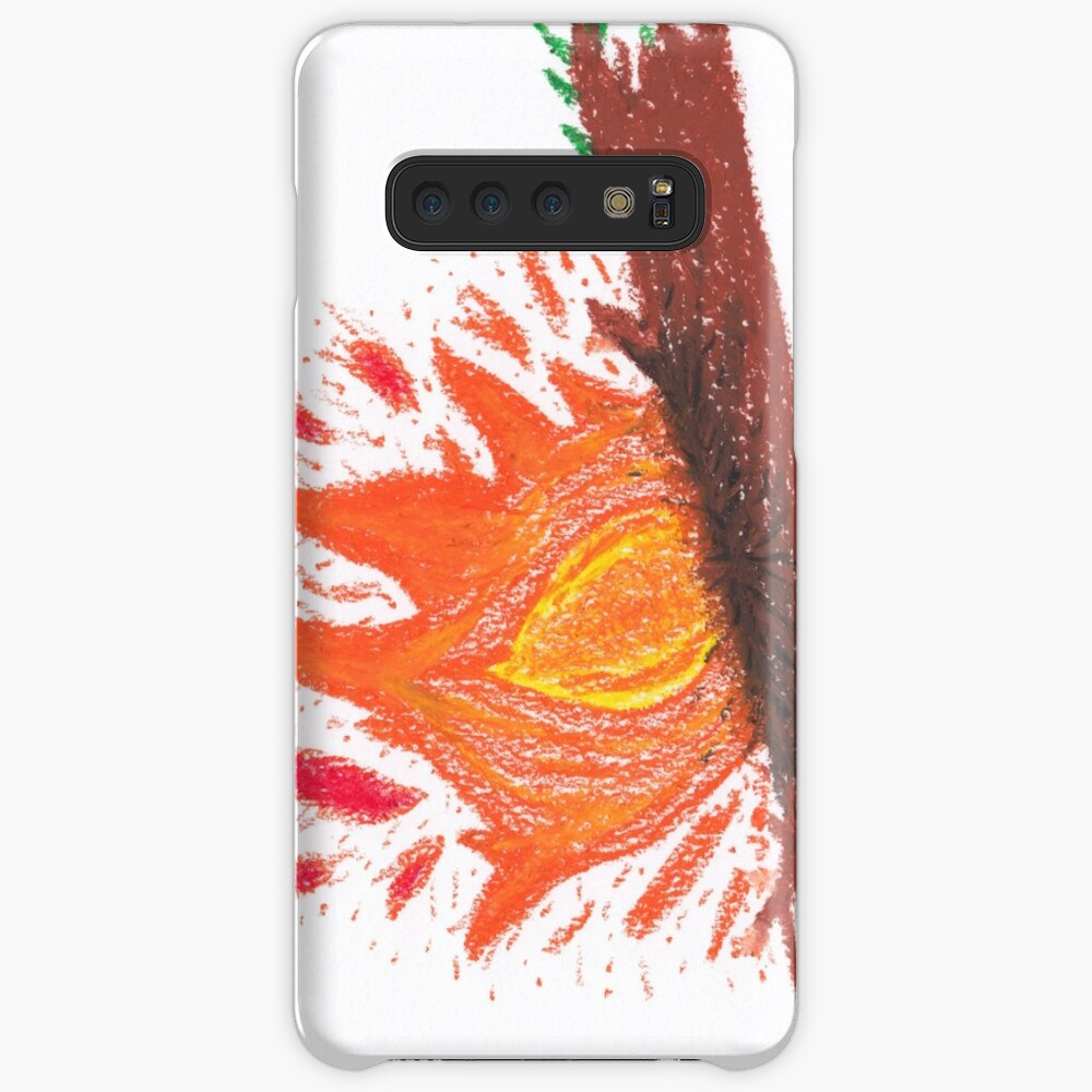 Merch #23 -- Log On Fire Cases & Skins for Samsung Galaxy
