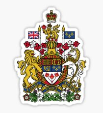 Royal Arms of Canada Sticker