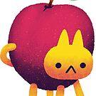 Plum Cat by knitetgantt