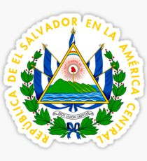 Coat of Arms of El Salvador  Sticker